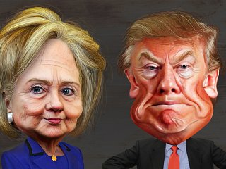 US-Wahlkampf 2016: Trump vs. Clinton