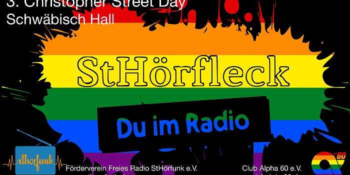 Christopher Street Day in Hall